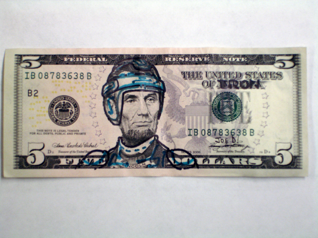 Lincoln 5 Dollar TRON