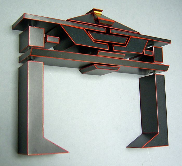 TRON Recognizer Papercraft